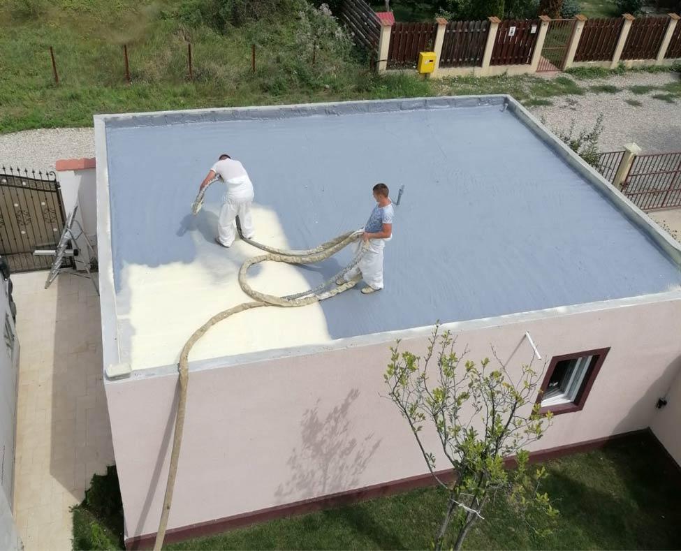 aplicarea poliureei pentru hidroizolatii